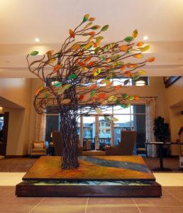 Tree Sculpture by Kristine Kollasch