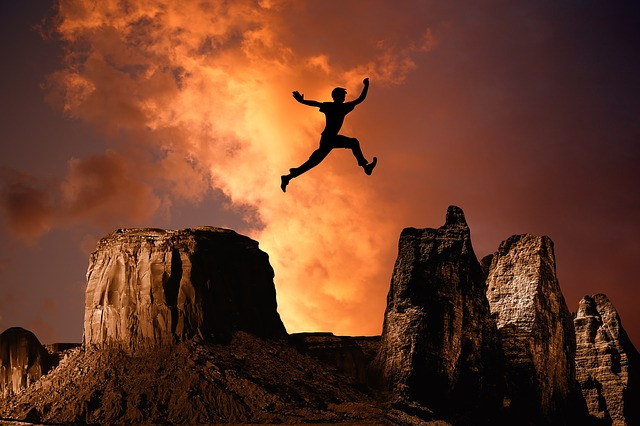 TAKE RISKS: YOUR SUCCESS DEPENDS ON IT