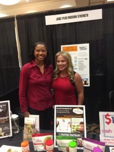 Award-Winning Writer Nitara Osbourne with Entrepreneur Megan R. Fenyoe
