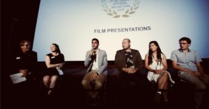 Q & A with Le Han and other fellow filmmakers.